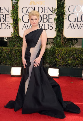 Kelly Osbourne Lovely With Elegant One Shoulder Gown By Zac Posen