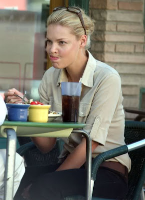 katherine heigl eating