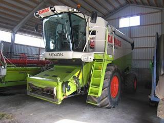 combine harvester - Class Lexion 480