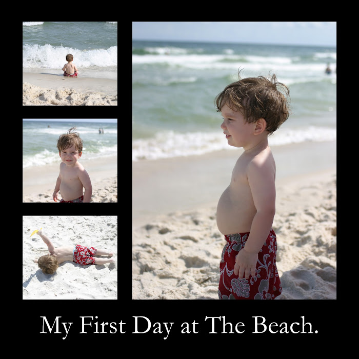 Aiden at the Beach