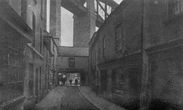 The Old Tamar Street Towards the Bridge