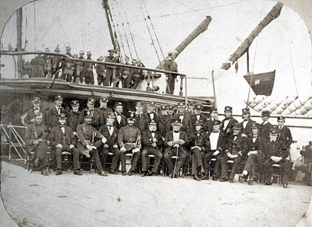 The Crew of the Indus March 4th 1860, Bermuda