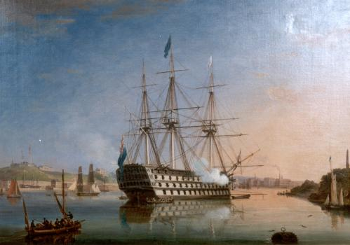 HMS San Josef in Her Pomp. HMS San Josef in Her Pomp