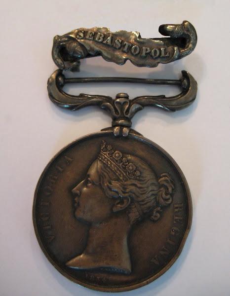 John Dunsford Jnr's Crimea Medal With Sebastopol Clasp