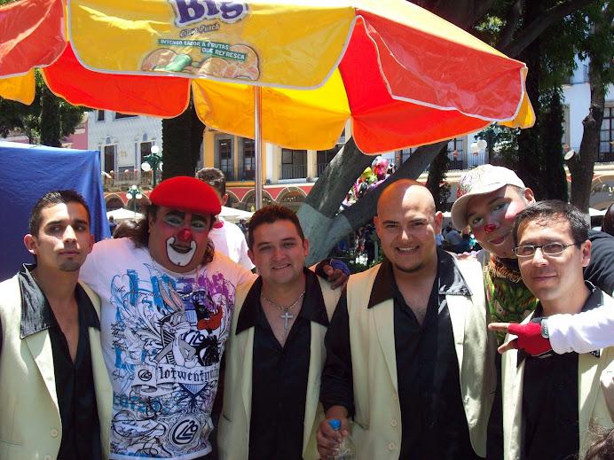 Grupo Erandi y Payasos