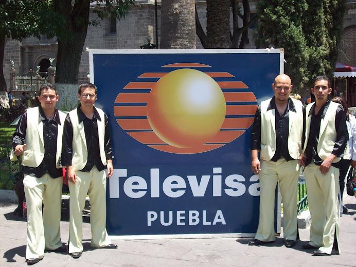 Grupo Erandi en Televisa Puebla
