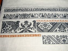 Sampler of Motifs from Marken in Progress