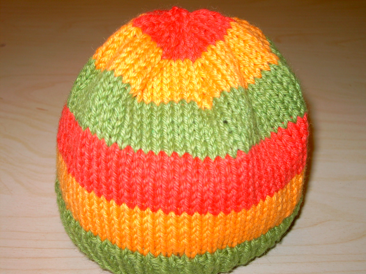the sheep bleat cool wool striped baby hat