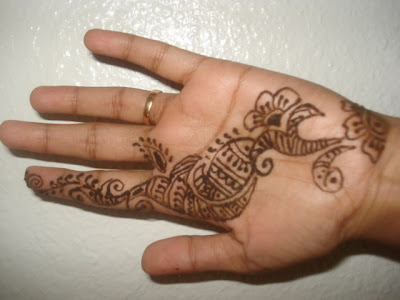 2) my mehandi tattoo Arabic