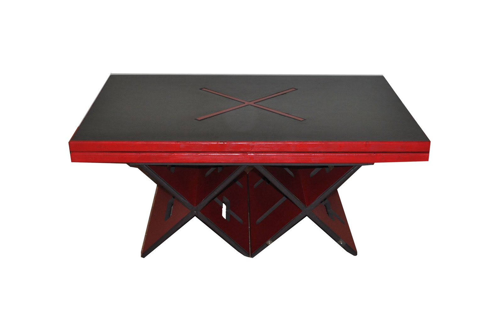 Mlle vintage table ou trema design for Table a manger convertible