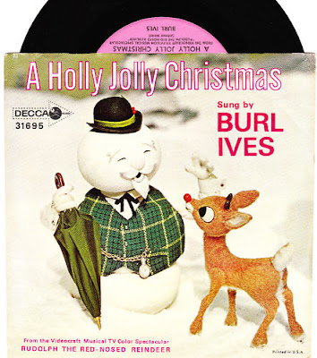 dbm logo. Burl Ives A Holly Jolly