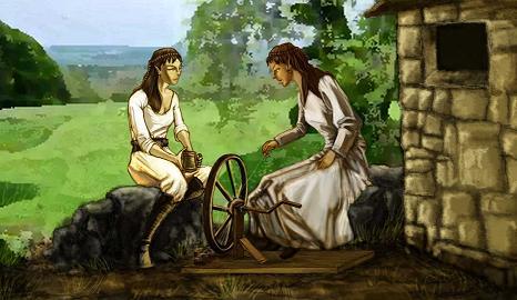 Mariah and Renna