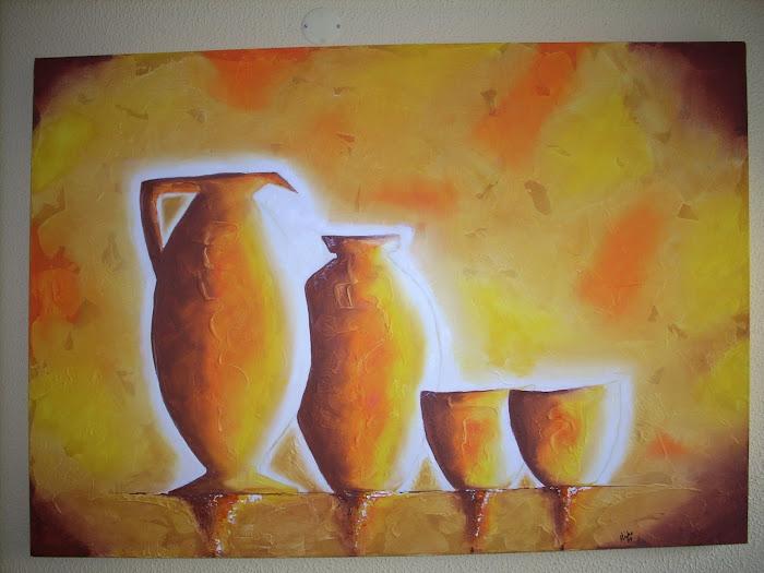 """"""" Potes Romanos II """"  100x4x70"""