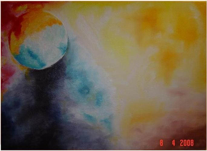 """ Noite Fantasma ""   60x2.5x50"