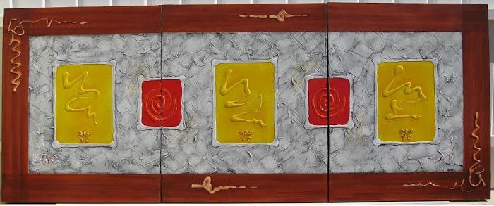 Abstrato III  150x4x60