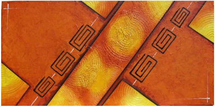""""""" Incas Séc: XV""""  120x4x60"""