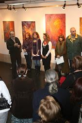 Exposicion de Rosa Fdez Salanova en el Ateneo Ferrolan