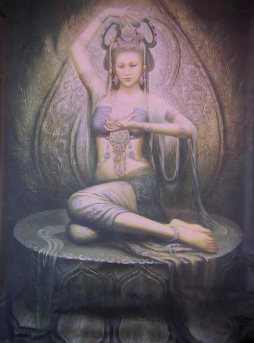 la diosa danza