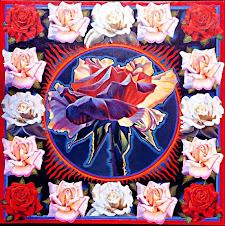Mandala de rosas