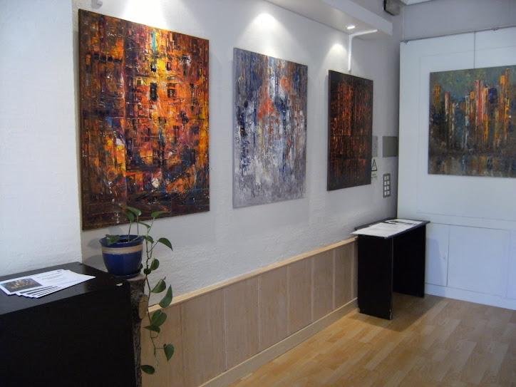 exposición galeria de arte Pers Polis
