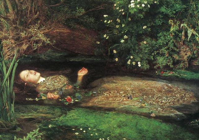 John Everett Millais - Ofelia