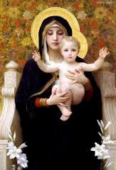 A Virgem Maria e a feminização no Ocidente.