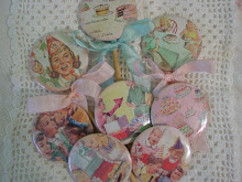 Vintage Birthday Party Favors