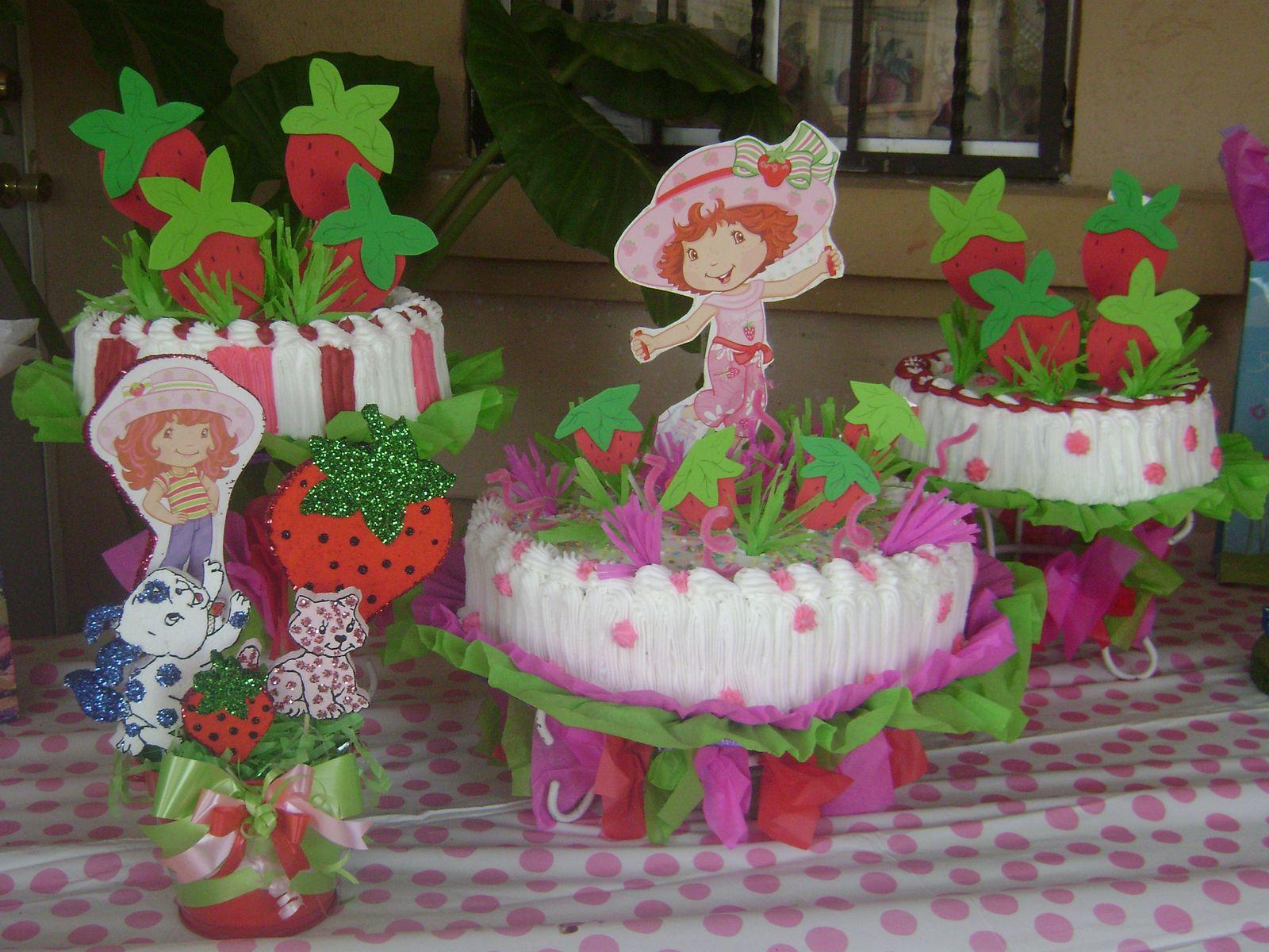 Pasteles de rosita fresita - Imagui