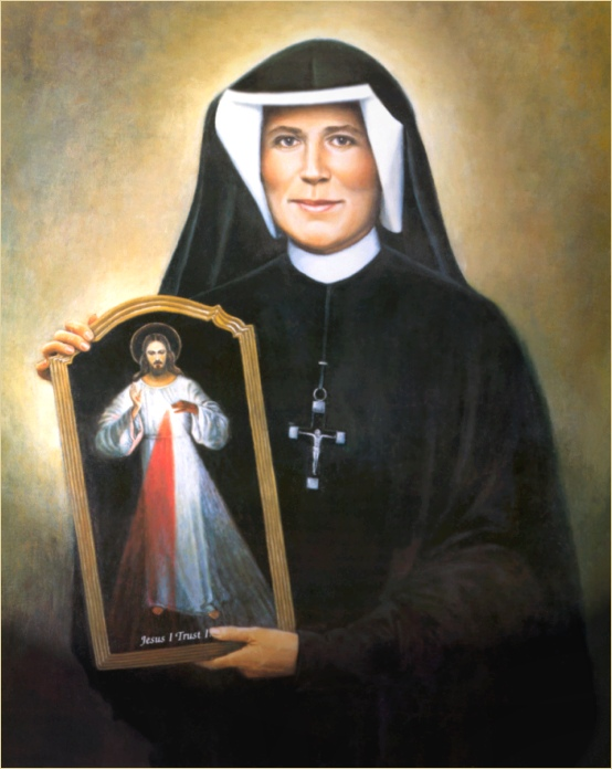 saint faustina Saint faustina's understanding of the virtue of trust was both clear and realistic she did not confuse it with a mere pious sentiment of trust, nor did she believe that this virtue could be attained without the help of god's transforming grace: jesus, do not leave me alone in suffering you know, lord, how weak i am.