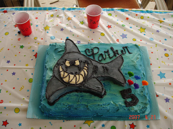Parker's 5th birthday cake.