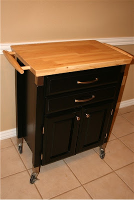 Moving Sale Rolling Kitchen Island