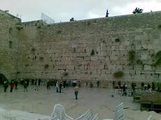 El Muro de las Lamentaciones Jerusalem