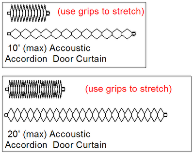 Curtains Ideas accordion curtain : REVIT Rocks !: Accoustic Accordion Door Curtain Family
