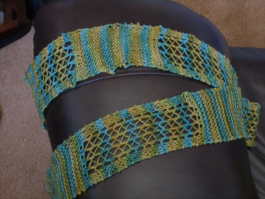 Knitting Pattern For Scarflette : Free Knitting Patterns