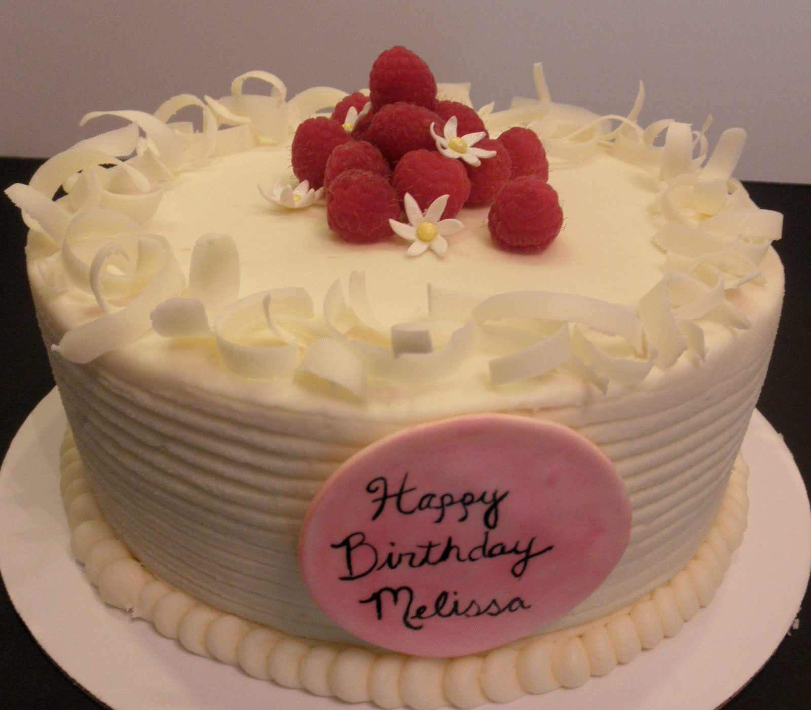 Sweet T S Cake Design Vanilla Cake W Red Raspberry