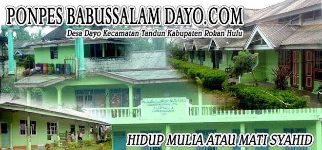 Pesantren Babussalam Desa Dayo