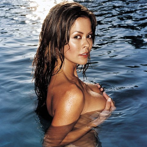 and download her EXCLUSIVE naked video! We love Brooke Burke Playboy