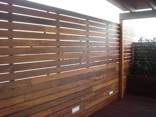 Accesorios para tu jard n paneles de madera - Paneles de madera para jardin ...