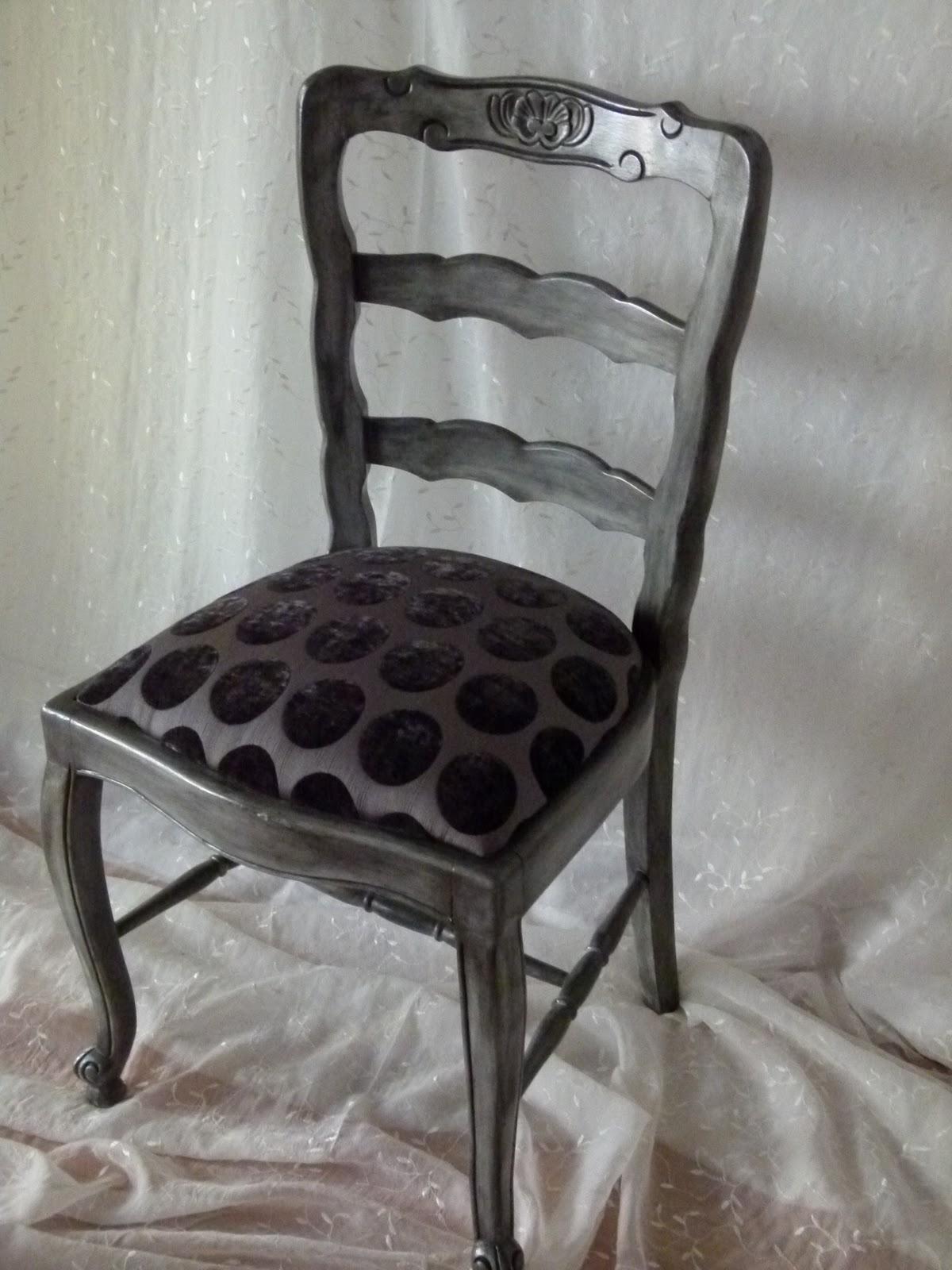 Serafina del campo muebles silla provenzal restaurada for Muebles de oficina olivos