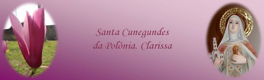 Santa Cunegundes da Polônia, Clarissa