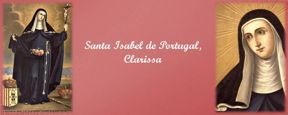Santa Isabel de Portugal, Clarissa