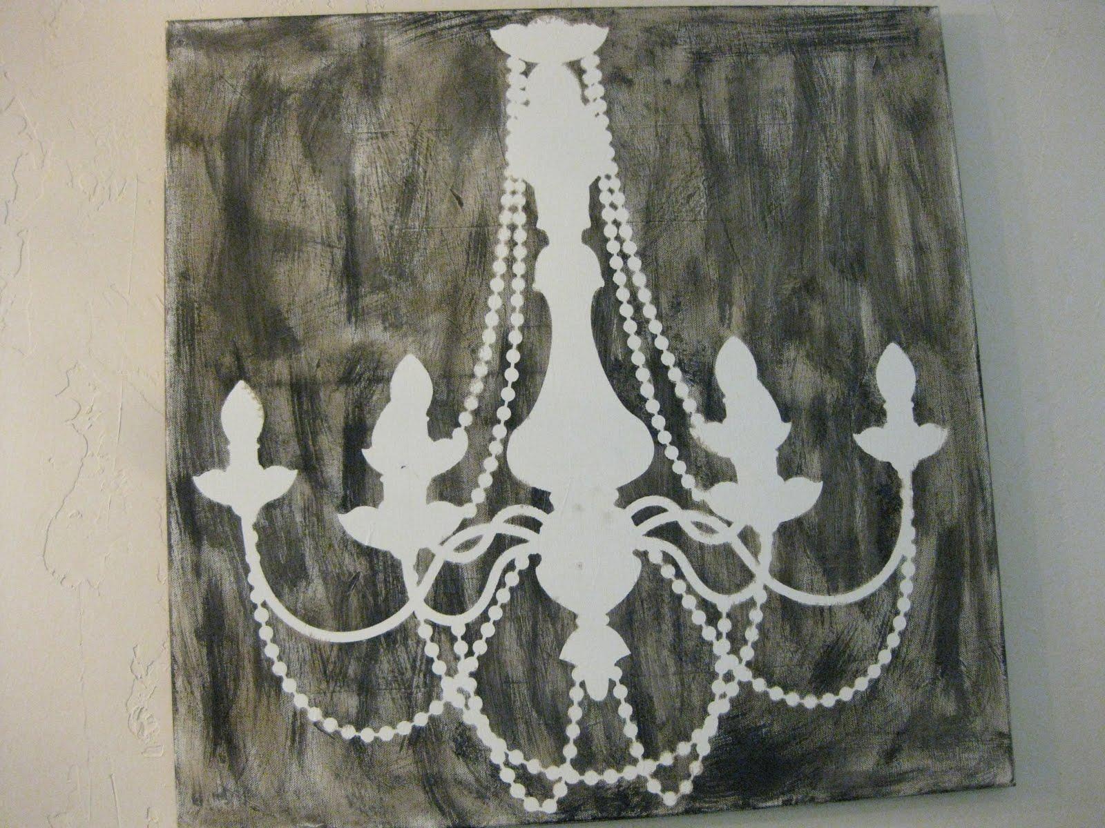 Primp Junktion Chandelier Canvas