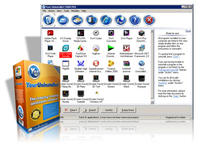 Capa Your Uninstaller! Pro v7.3.2010.33 + Crack