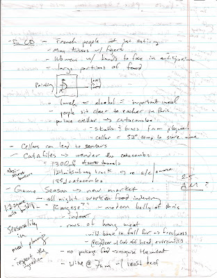 Ethnography: Investigating Cultural Practices: field notes example ...