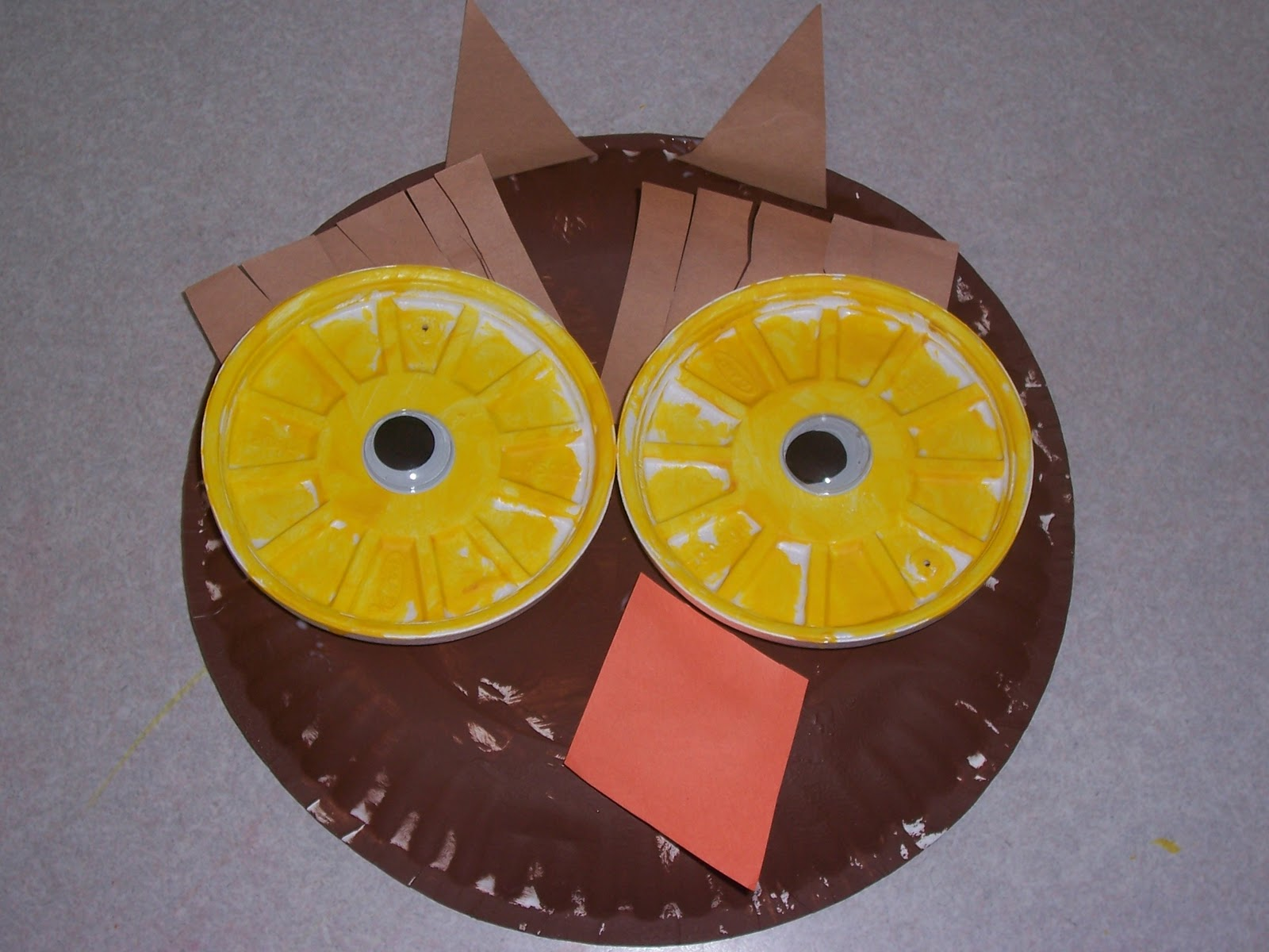 & Because I Said So (and Other Mommyisms): Paper Plate Owl Craft