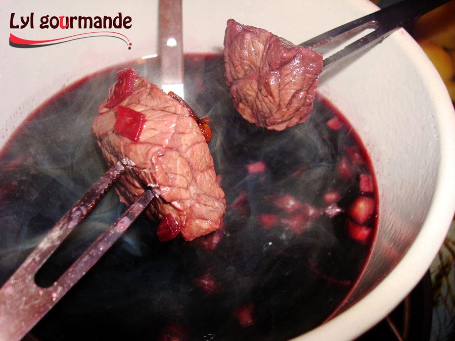 fondue olja