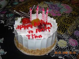 Ariff's Birthday Cake