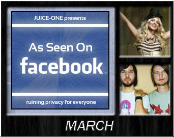 As Seen On Facebook, Britney Spears, Royksopp
