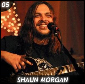 Shaun Morgan and his Sweat