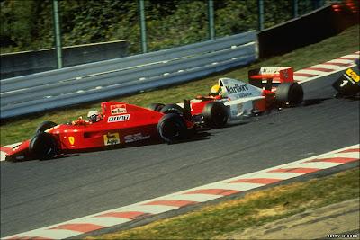 GP do Japão de Formula 1, Suzuka, em 1990 - continental-circus.blogspot.com